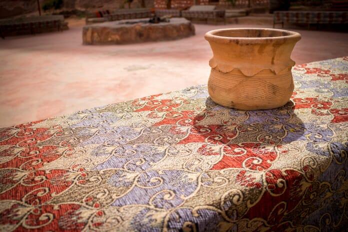 Pottery at a Wadi Rum Desert Camp, Jordan