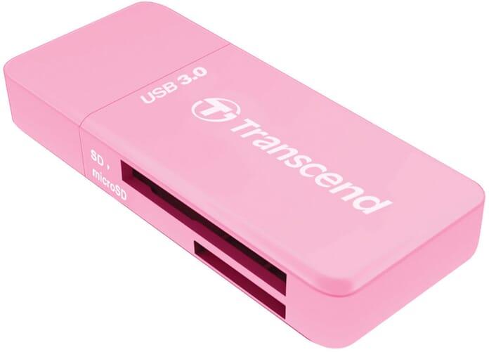 Transcend SD card reader