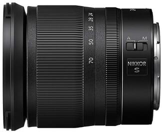 Nikkor Z 24-70mm lens