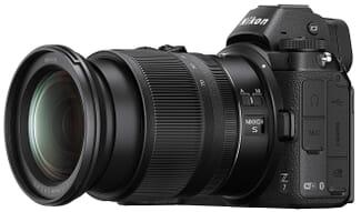 Nikkor Z 24-70mm lens on Z7 body