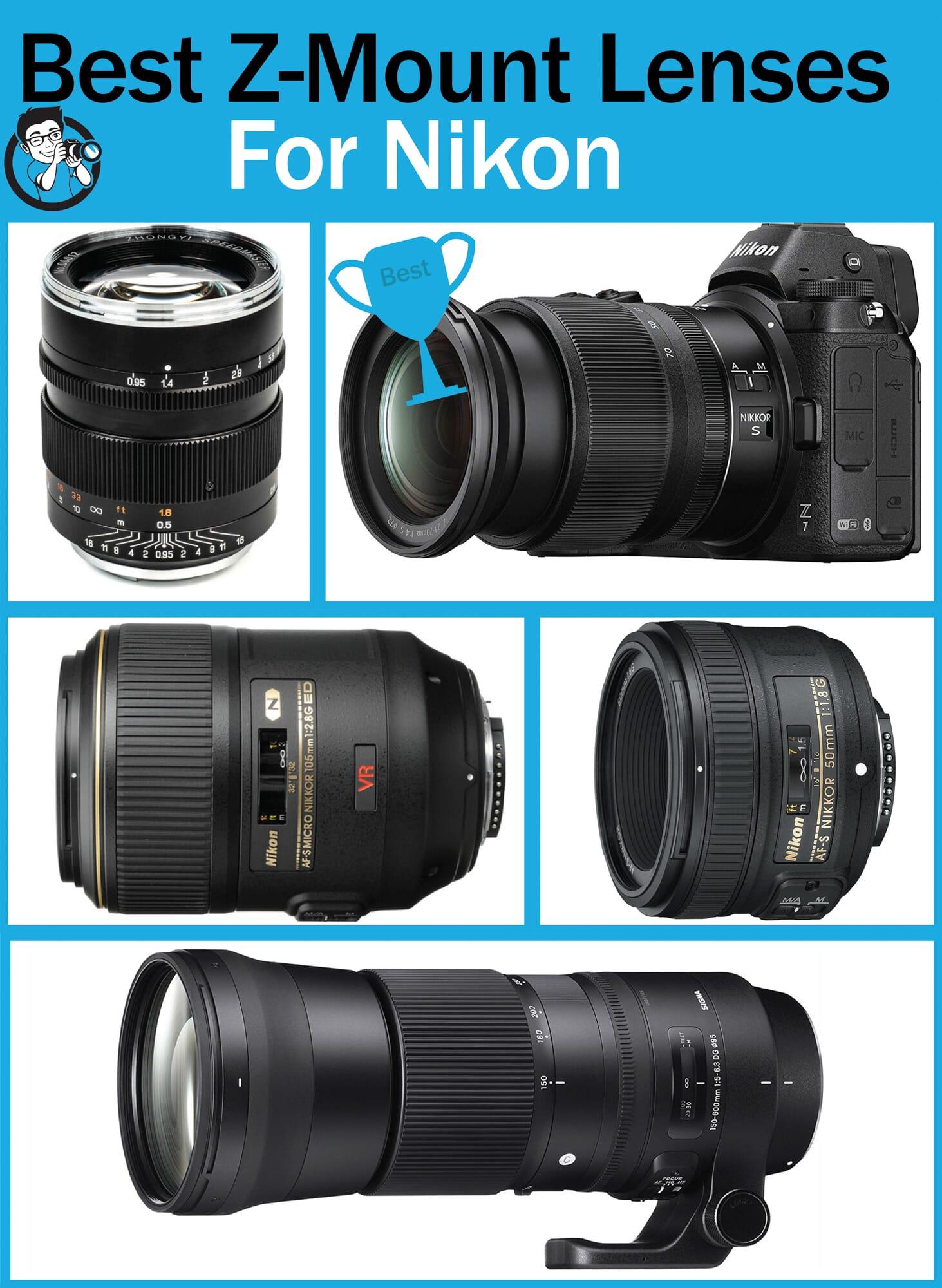 Best Z Mount Lenses