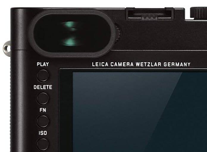 Leica Q Viewfinder