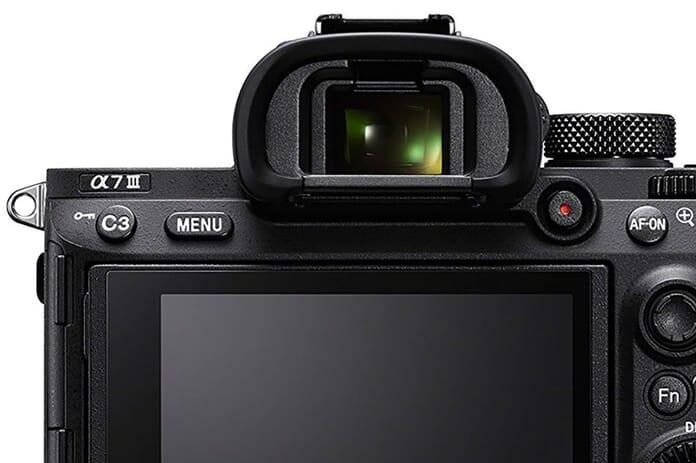 Sony A7 III Viewfinder