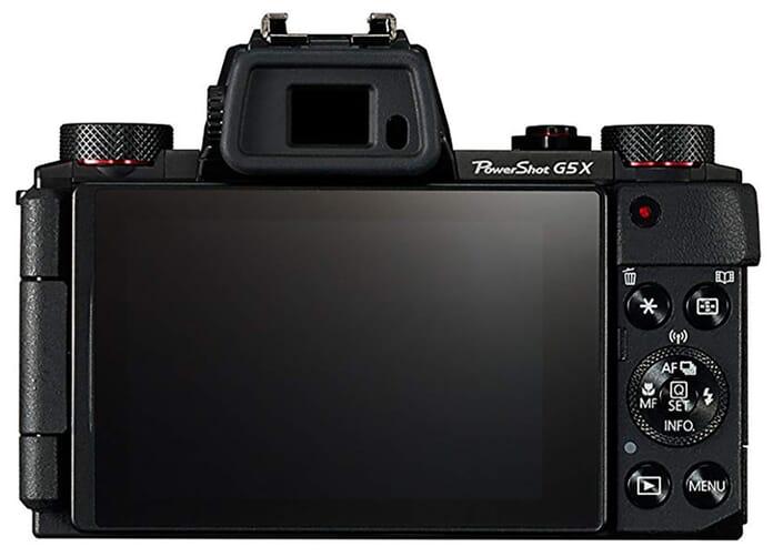 Canon PowerShot Viewfinder