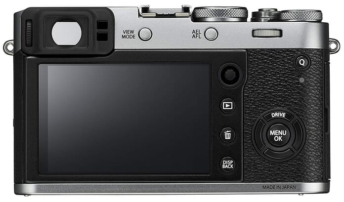 Fujifilm X100F Viewfinder