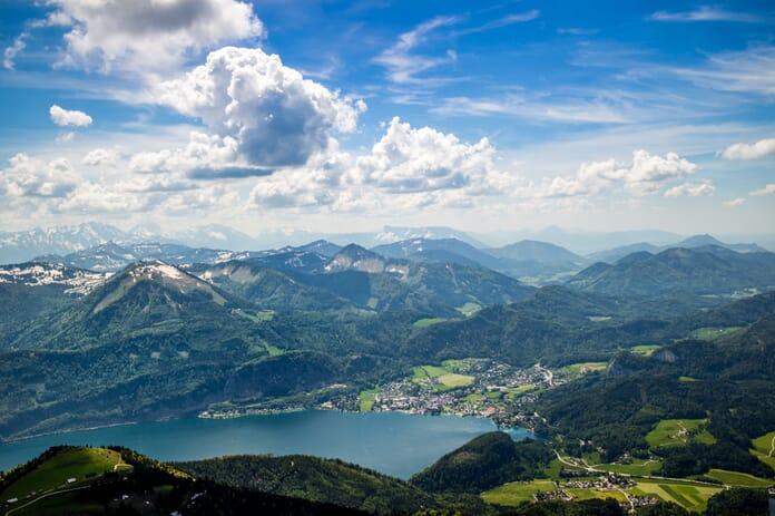 Impressive scenery in Austria captured at f/8.0