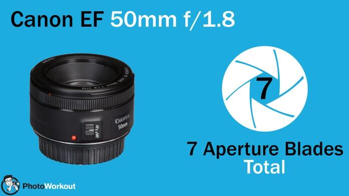 Canon EF 50 7 Aperture Blades