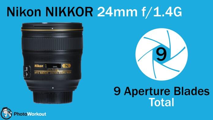 Nikon 24 9 Aperture Blades
