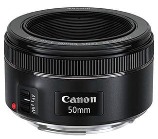 Canon 50mm f1.8