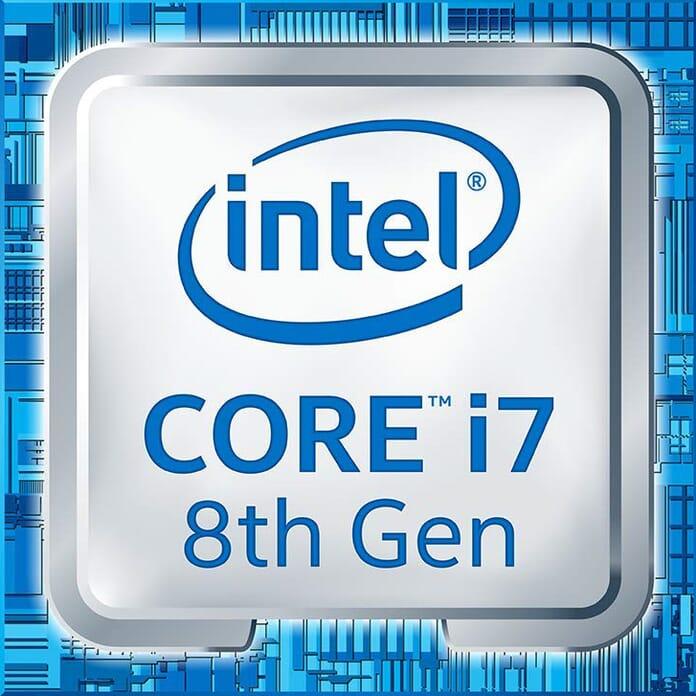 Intel i7 8th Gen