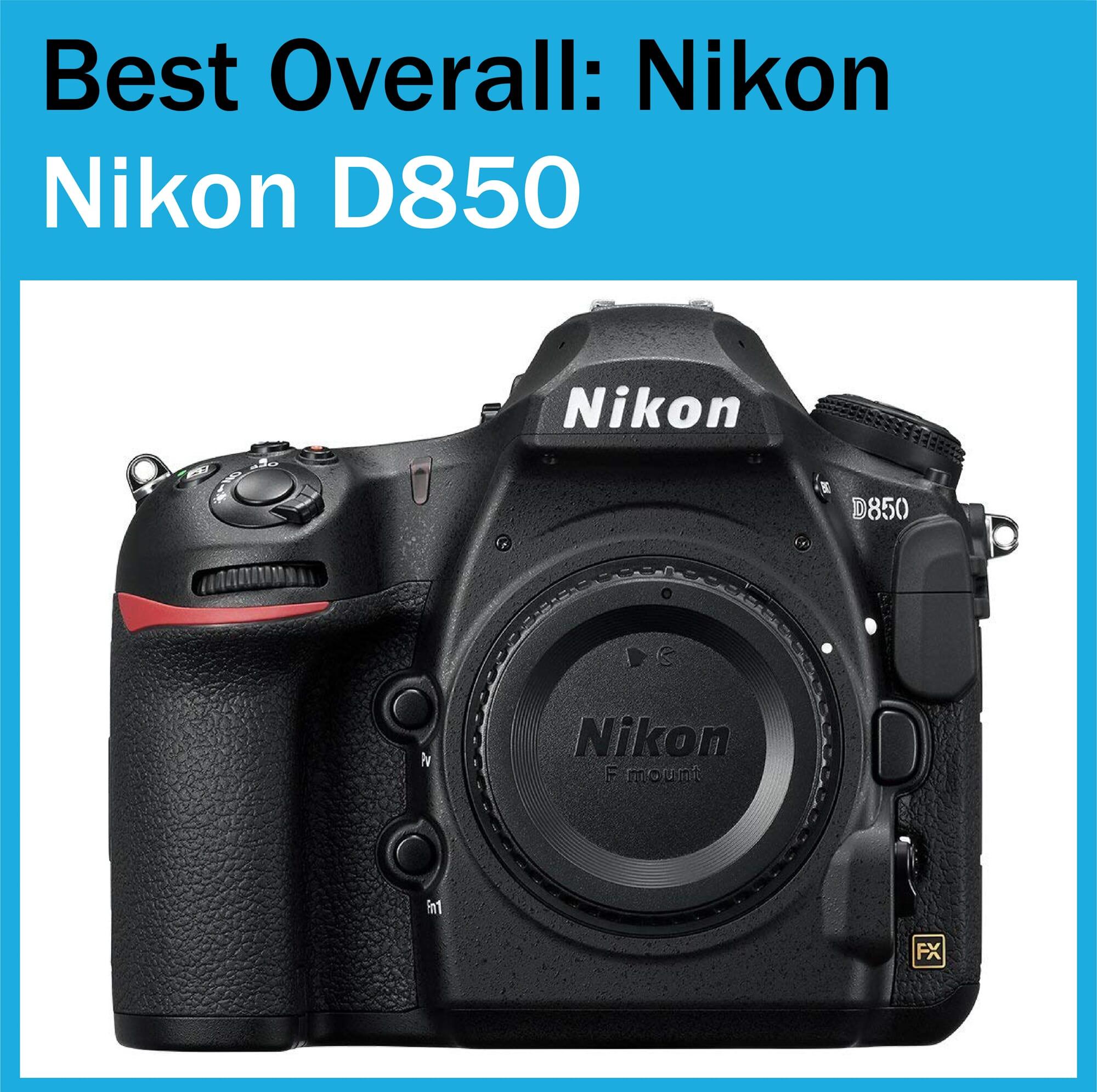 Best Full Frame Camera Nikon D850