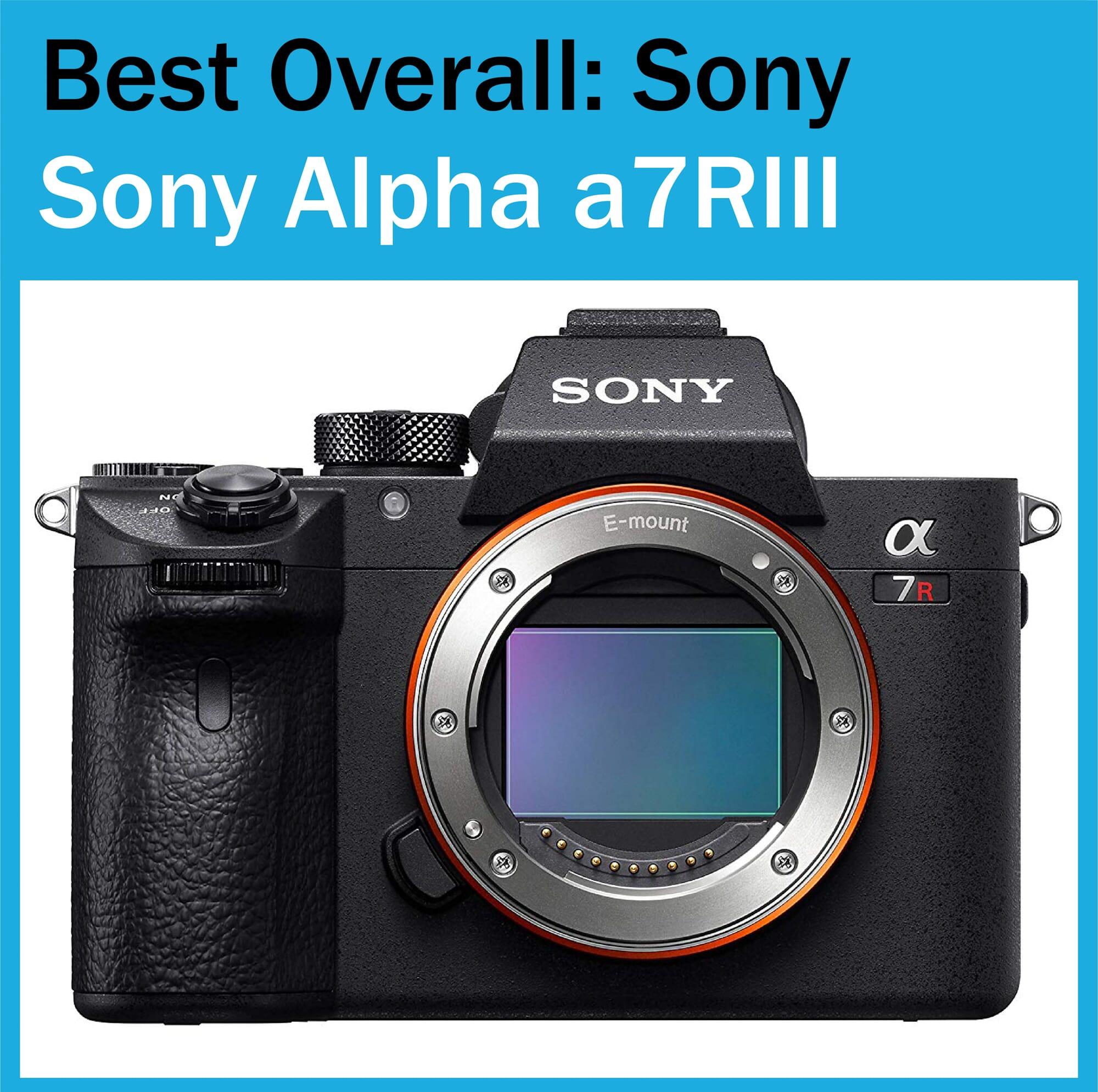 Best Full Frame Camera Sony Alpha a7RIII