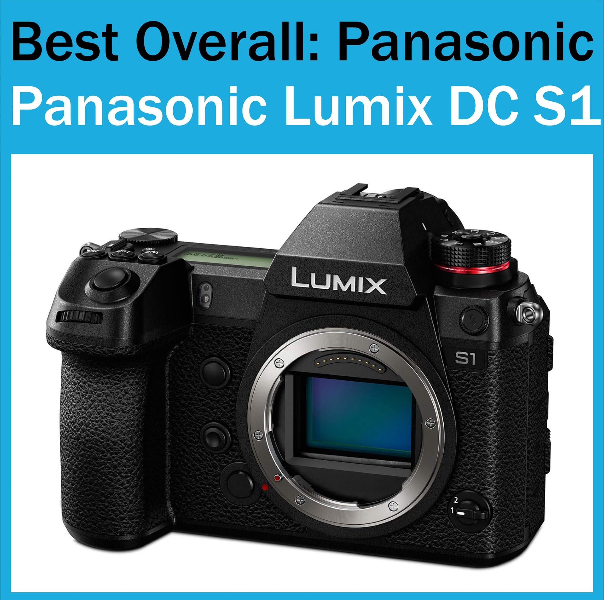 Best Full Frame Camera Panasonic Lumix DC S1