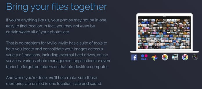 mylio file interface