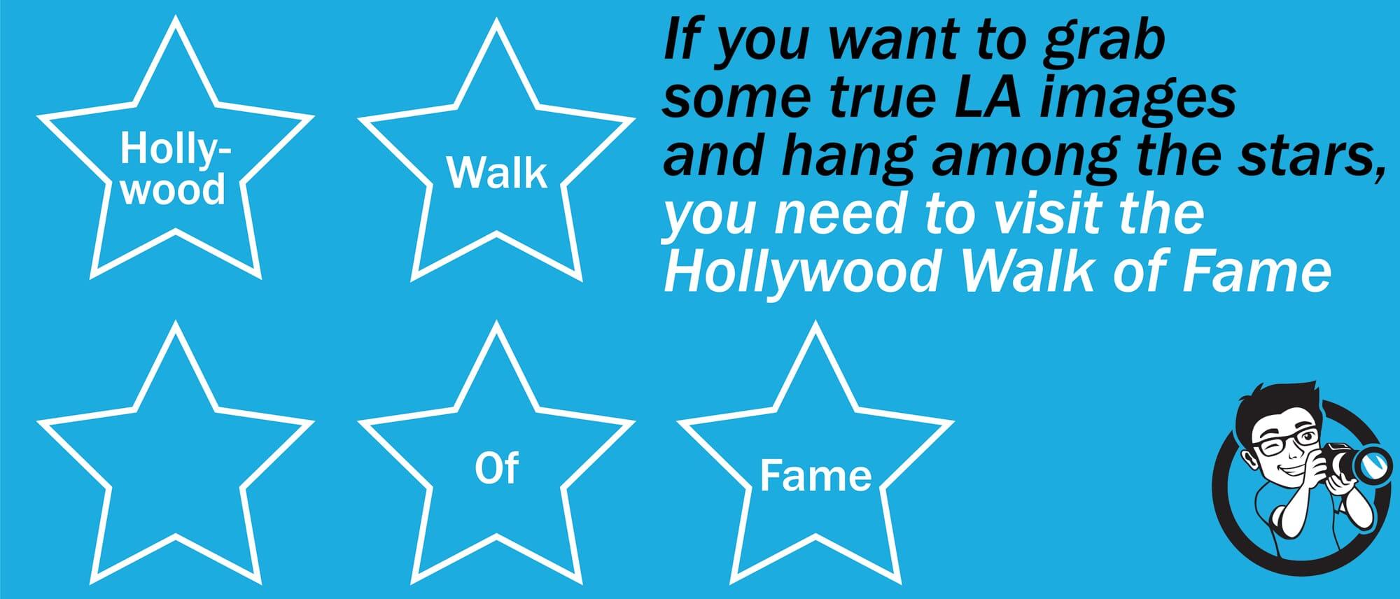 Walk of Fame Best Photo Spots LA
