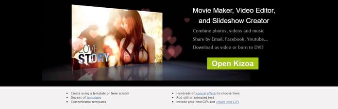 Kizoa features best slideshow maker
