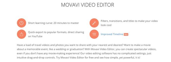 Movavi features best slideshow maker