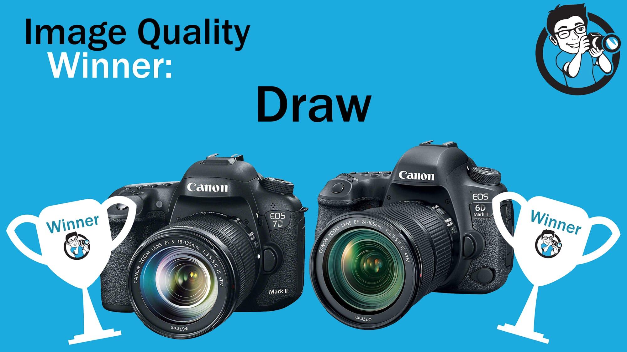 Canon 6D vs 7D image quality