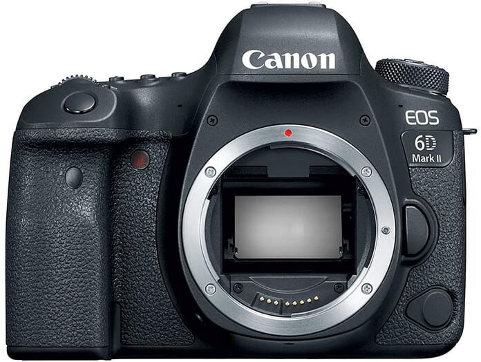 Canon EOS 6D Mark II professional photography equipment