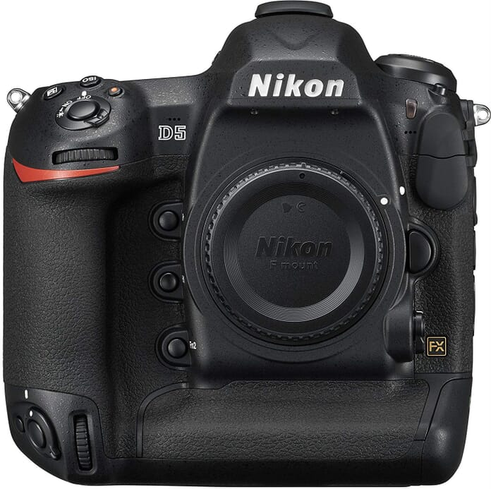 Nikon D5 professional photography equipment