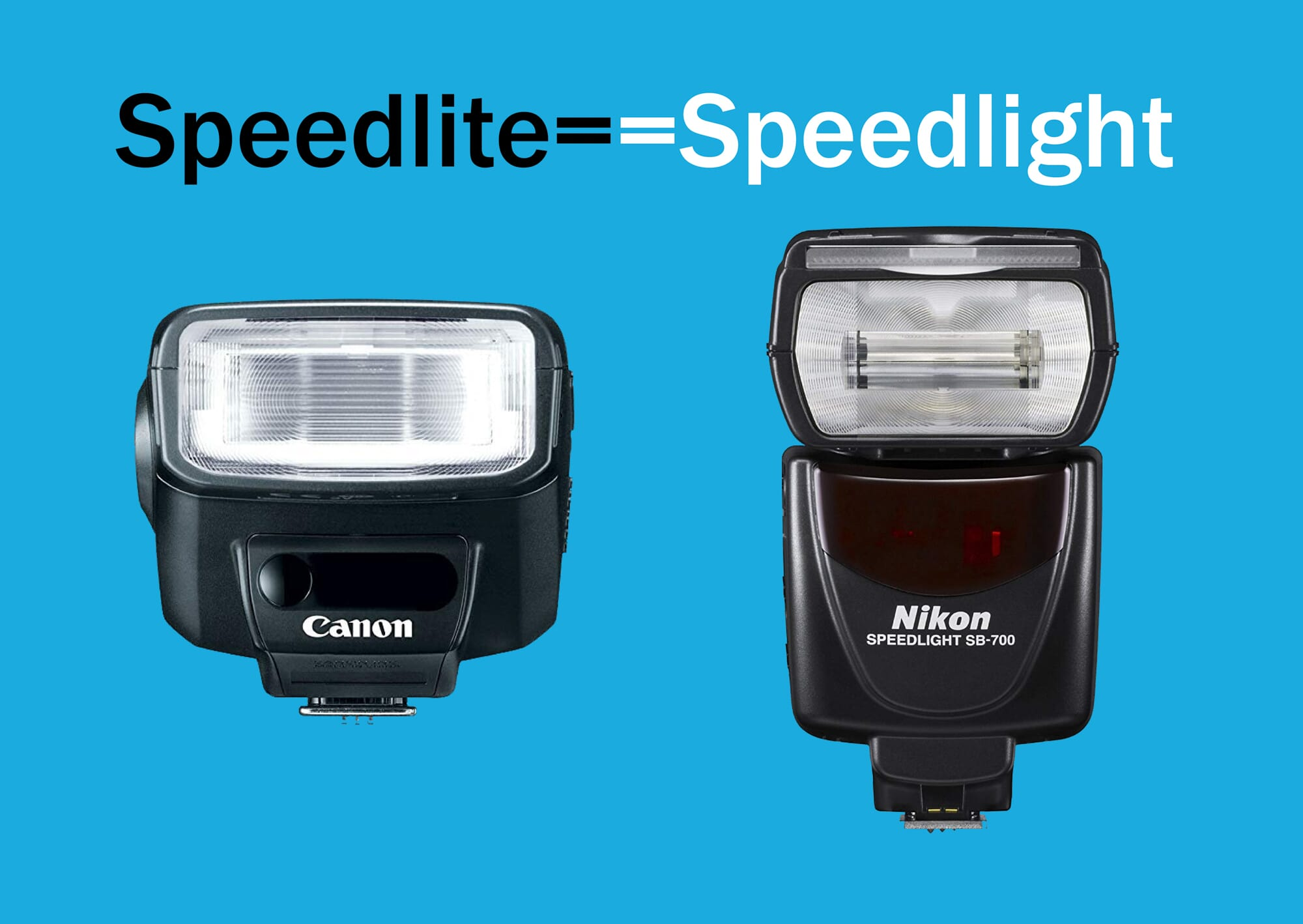 speedlight vs speedlite