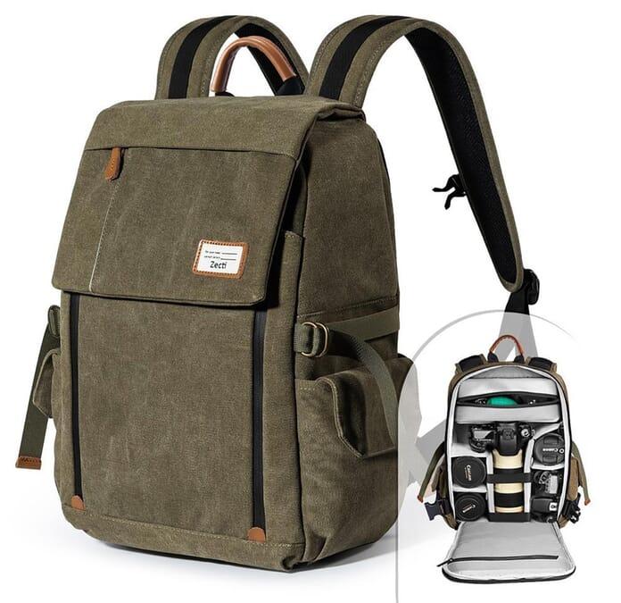 Zecti anti-theft camera bag