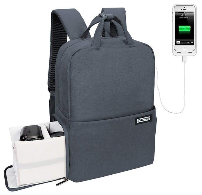 CADeN anti-theft camera bag