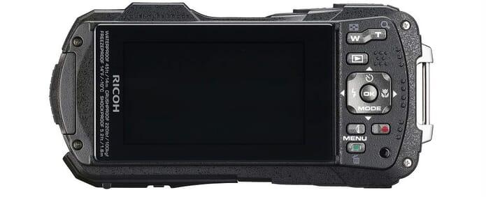 Ricoh WG 60 Rear best macro camera