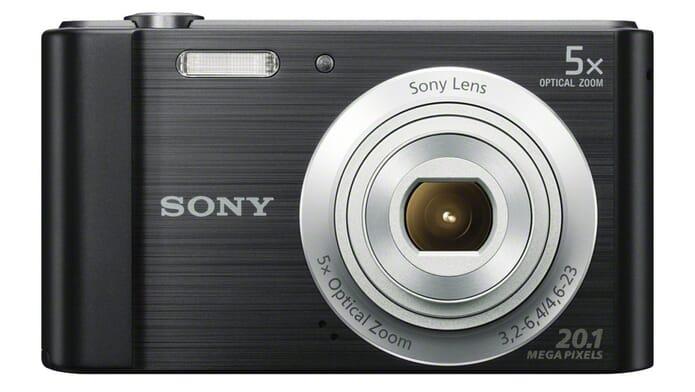 Sony Cybershot DSC W800B best macro camera