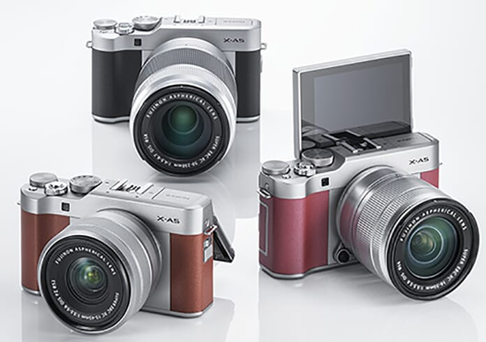 Fujifilm x-A5 camera bodies