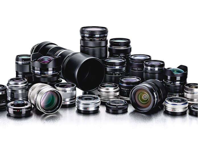 Olympus Zuiko lens collection