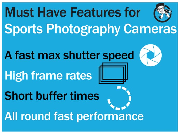 best camera for sports photography features