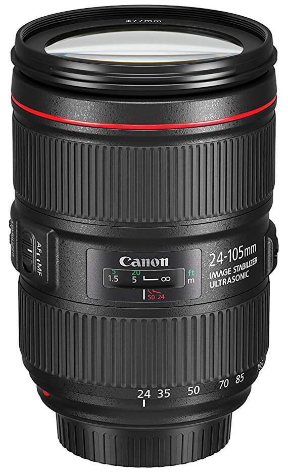 canon 24-105mm best canon lenses for video
