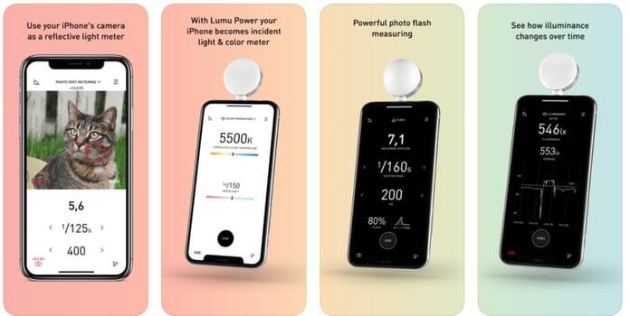 lumu light meter for iphone