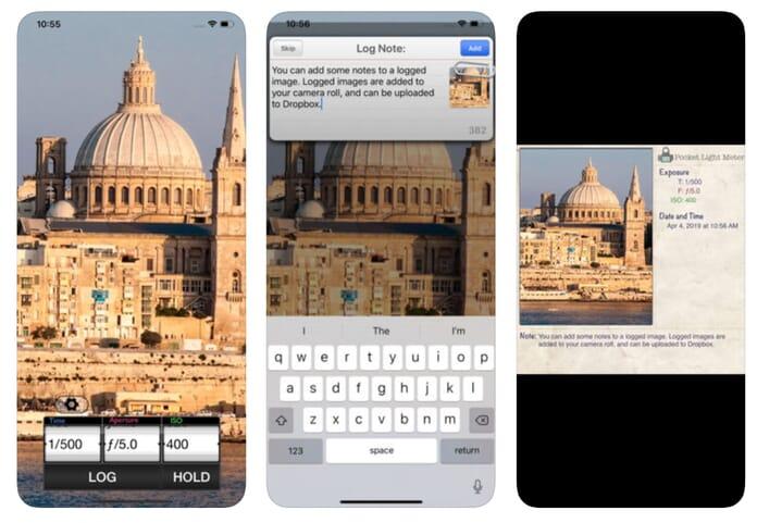 pocket light meter app for iphone