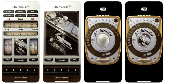 lightmeter pro app for iphone