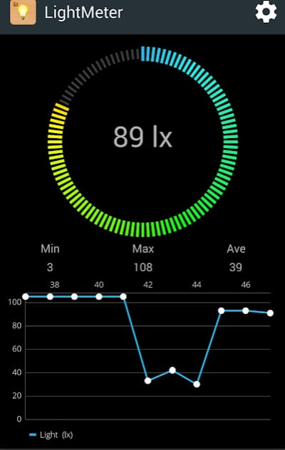 lux meter for android