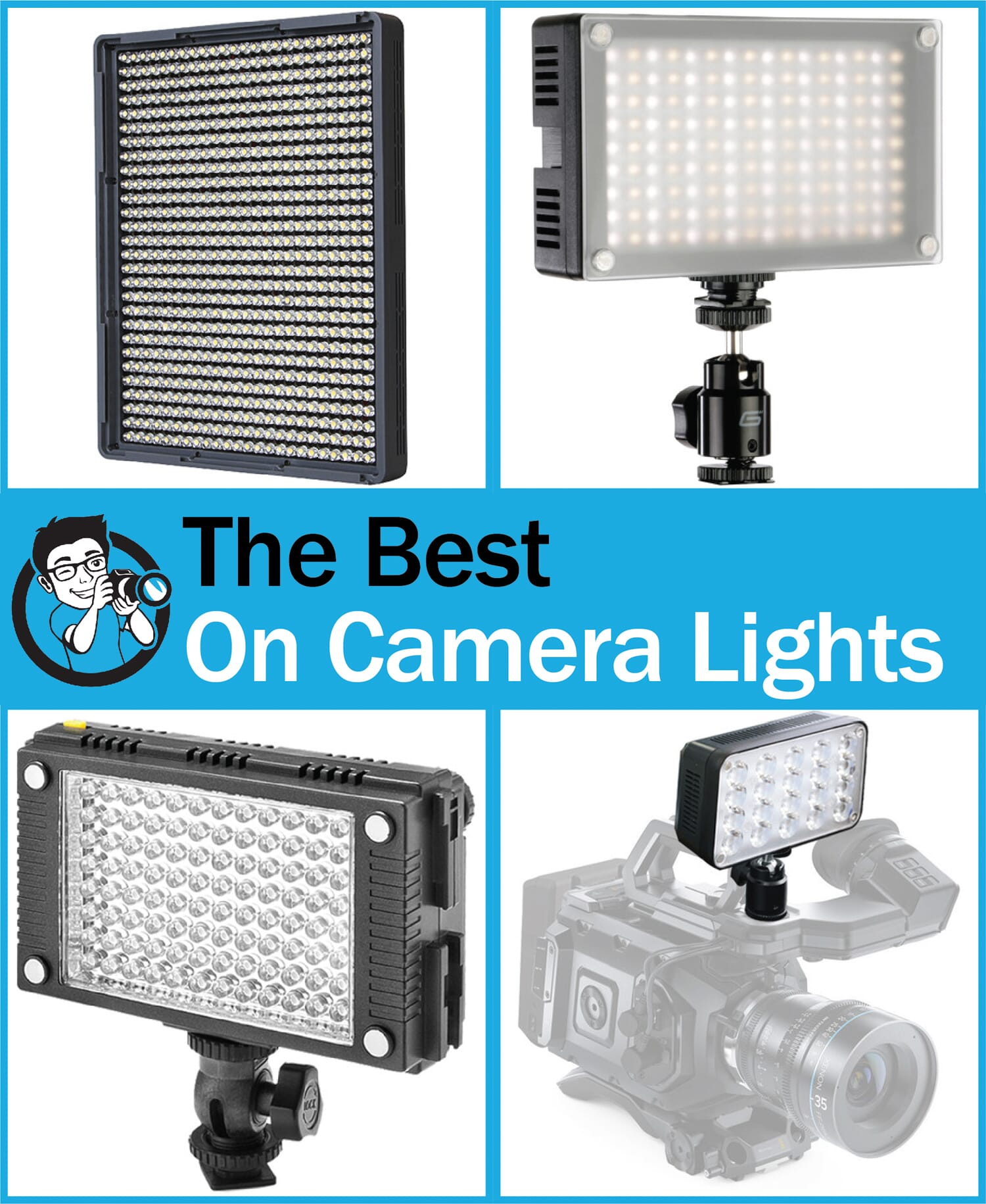 best on camera lights