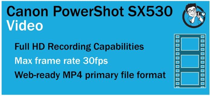 SX530 Video