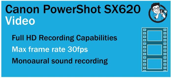SX620 Video