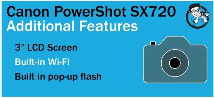 SX720 Extras