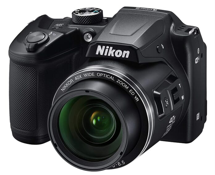 B500 best point and shoot camera under 300