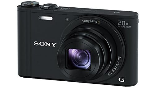 WX350 best point and shoot camera under 300