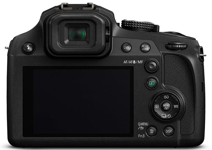 FZ80 rear best point and shoot camera under 300