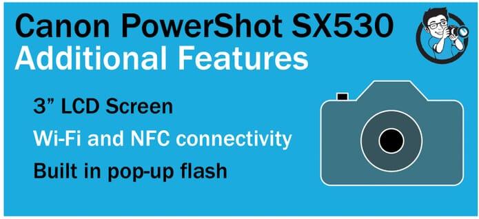 SX530 Extras