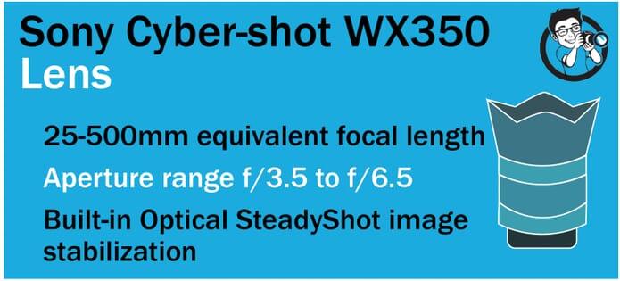 WX350 Lens