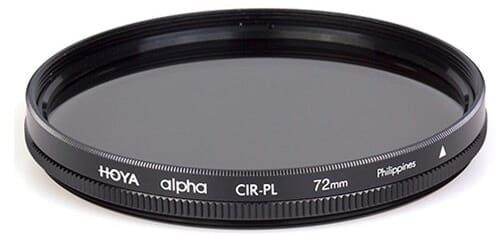 Best POlarizing Filter Hoya Alpha