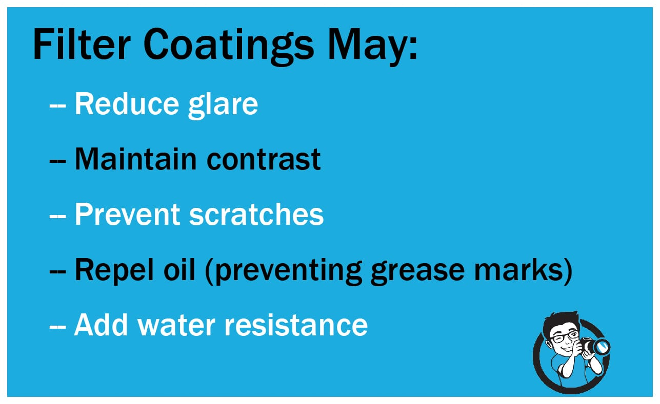 Filter Coatings