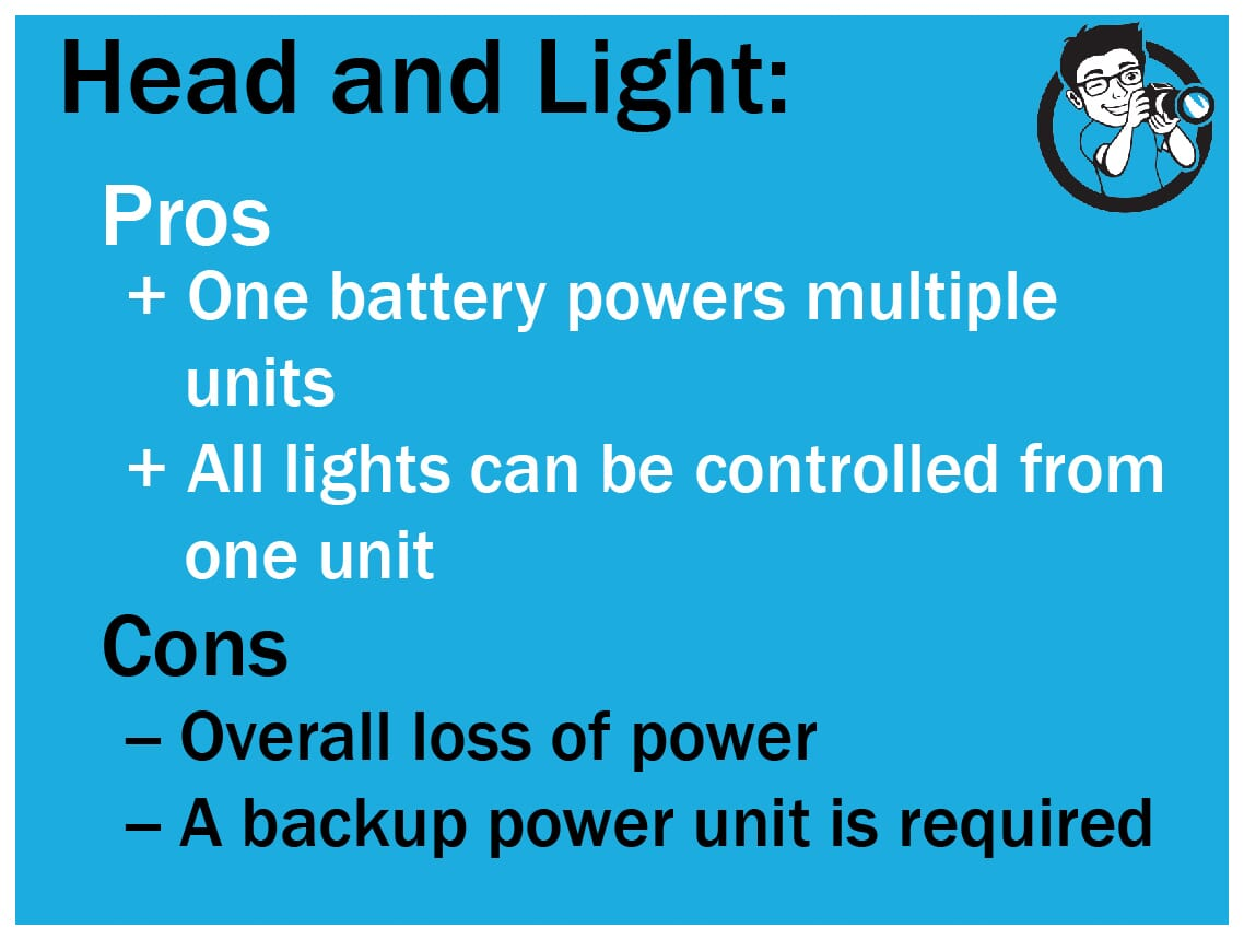 pros and cons of head and light
