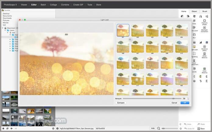 Best photoshop alternatives - Photoscape X
